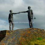 """Hands Across the Divide"", le monument de la réconciliation"