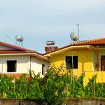 Les réservoirs de production d'eau chaude sur de nombreuses maisons