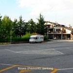 Boves: Parking nuit près du monastère