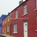 Les maisons sont souvent très colorées