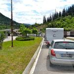 Queue à la frontière du Monténégro