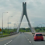 Boyne River Bridge, sur l'autoroute M1
