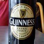 La Guinness, boisson nationale irlandaise. Bof...