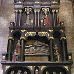 Dublin, St Patrick's Cathedral, tombeau de la famille Boyle