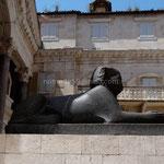 Split: une statue de sphinx venue d'Egypte
