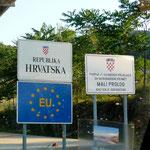 Entrée en Croatie