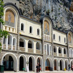 La terrasse du monastère