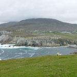 La côte sud d'Achille Island