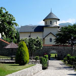 Monastère de Morača, église de la Dormition de Marie, XIIIe siècle.