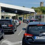 La douane albanaise.