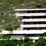 Ce centre de vacances a subi les bombardements