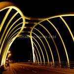 Achill Bridge, illuminé la nuit