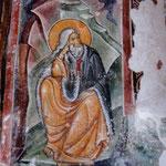 Fresque de 1252, Monastère de Morača (photo d'après carte postale)