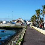 Arrêt nocturne près du port de Castletown Berehaven