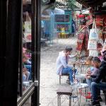 Sarajevo: pause dans l'agitation de cette ville