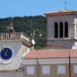 Cres, tour de l'Horloge et église N.-D.-des-Neiges