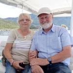 Dans le bateau qui nous mène à Dubrovnik