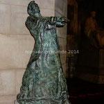 Dublin, St Patrick's Cathedral, statue de Saint Patrick