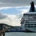 Cobh, le bateau de croisière