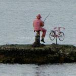 pêcheur rose...