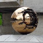 Trinity College. Un autre exemplaire de cette représentation du monde se trouve dans la cour du musée du Vatican.