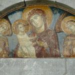 Monastère de Morača, détail du portail de l'église