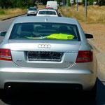 Au Monténégro certaines voitures roulent sans plaque!