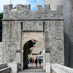 Dubrovnik: porte de Ploče