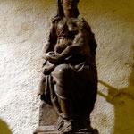 Jurandvor, église Ste Lucie, vierge allaitante