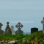 Croix celtiques dans un cimetière