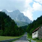Les montagnes des Dolomites