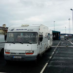 Larne, sur l'embarcadère pour l'Écosse