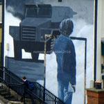 Fresque dans Derry, côté indépendantiste
