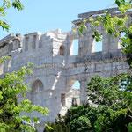 Pula, l'amphithéâtre romain