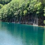 Les lacs sont couleur émeraude
