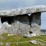 Le dolmen de Poulnabron
