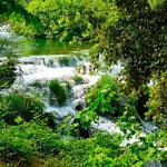 Parc de Krka, les premières chutes