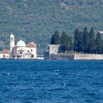 Bouches de Kotor: les îlots de N-D-des-Rochers et du monastère de St-Georges