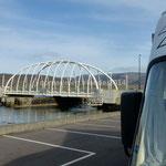 Notre bivouac du soir sera à l'ombre du pont Achill Bridge