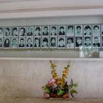 Trogir: monument à la mémoire des victimes de la guerre de 1991.