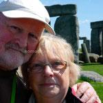 Notre selfie devant Stonehenge