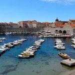 Dubrovnik: le port