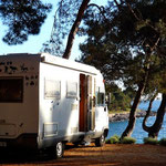 A Mali Lošinj, emplacement de rêve face à la mer