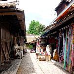 Sarajevo: quartier de Baščaršija