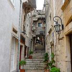 Korčula: ruelle typique