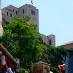 Krujë, la forteresse domine la ville