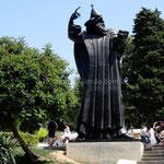 Split: statue de Grégoire de Nin