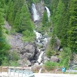 Cascade dans les Dolomites