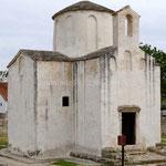 Nin, l'église Ste Croix serait la plus ancienne de Croatie