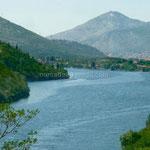 Paysage bosnien sur la Trebišnjica